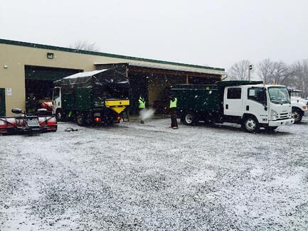 Level Green Landscaping provides commercial snow removal services in Washington DC, Maryland and parts of Virginia.