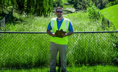 Level Green Landscaping quality inspection