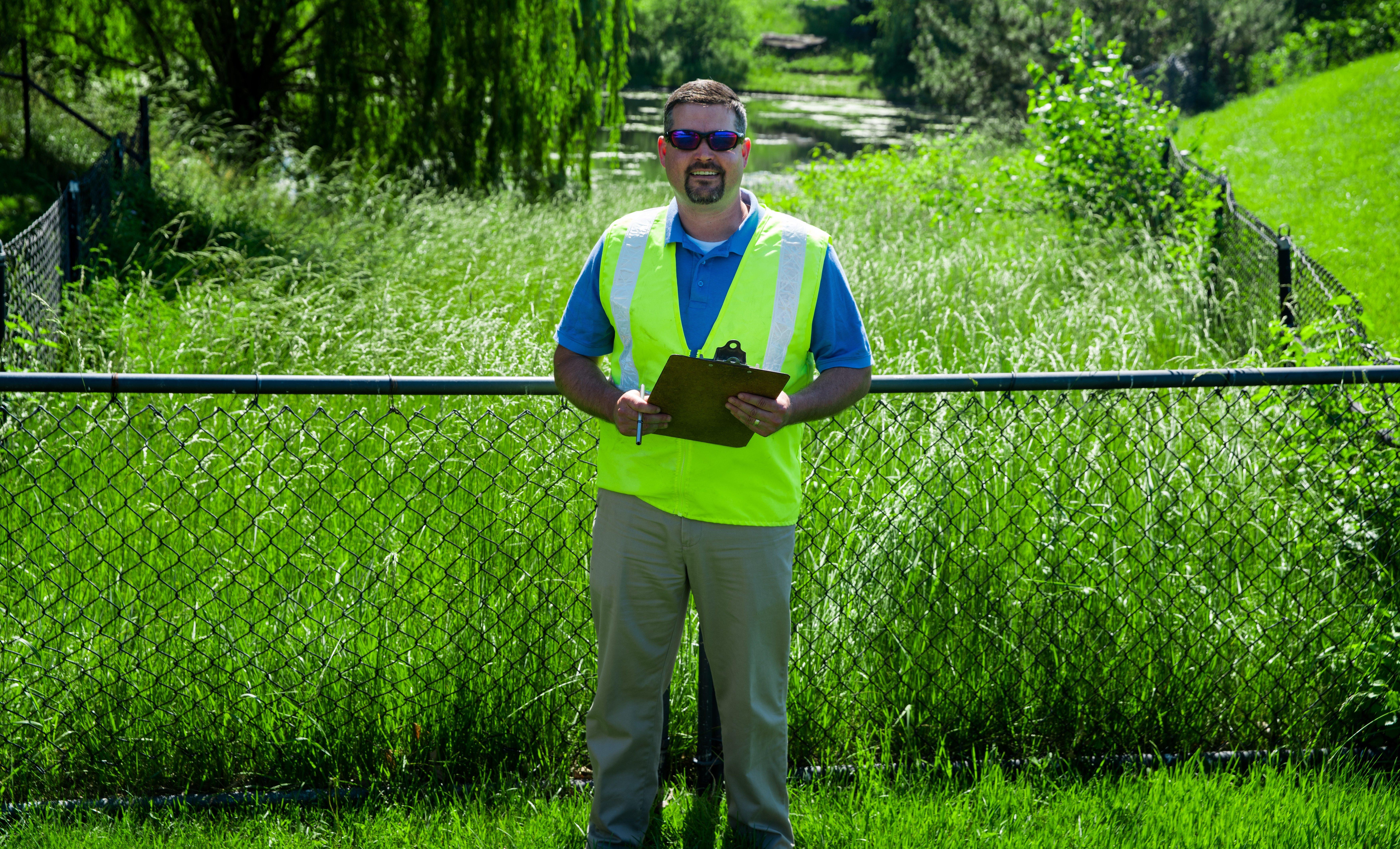A happy Level Green Employee