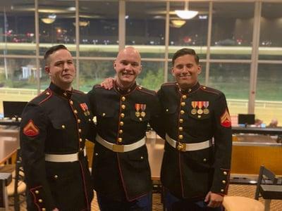 Gabe Hohman Marines