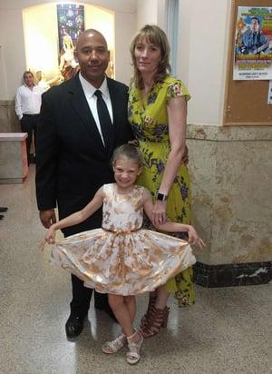 Marcene Pugh and family