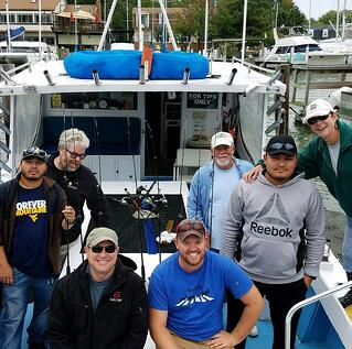 Paul Construction Division Fishing Trip 2017
