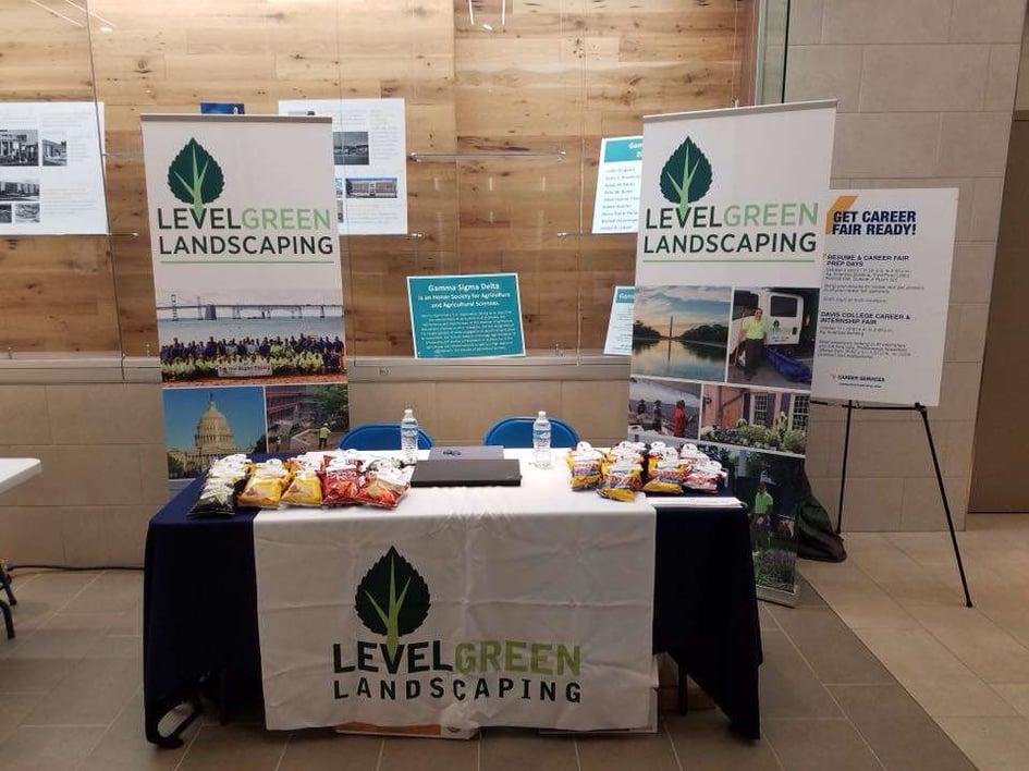 Level Green Landscaping Career Fair Maryland