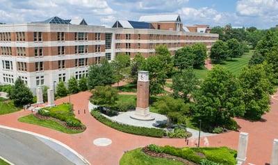 University of Maryland campus landscape