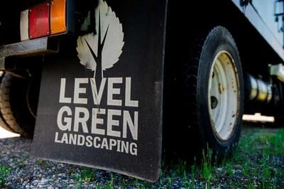 Level Green Landscaping Truck
