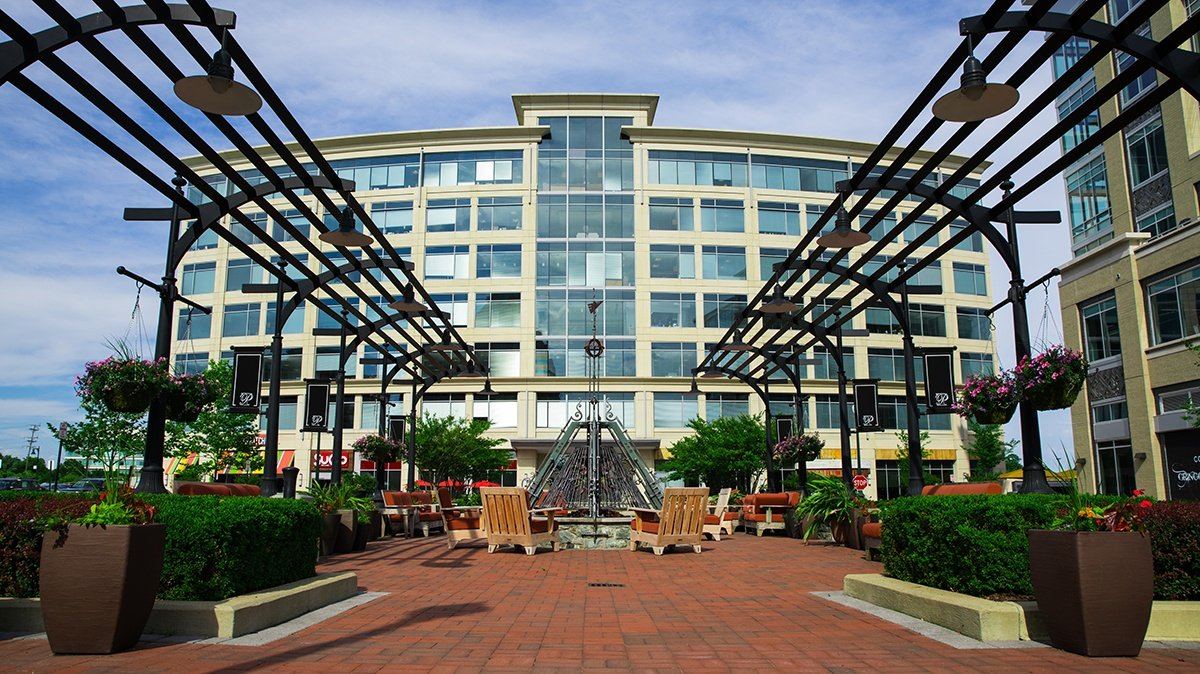 Commercial landscaping enhancements by Level Green Landscaping