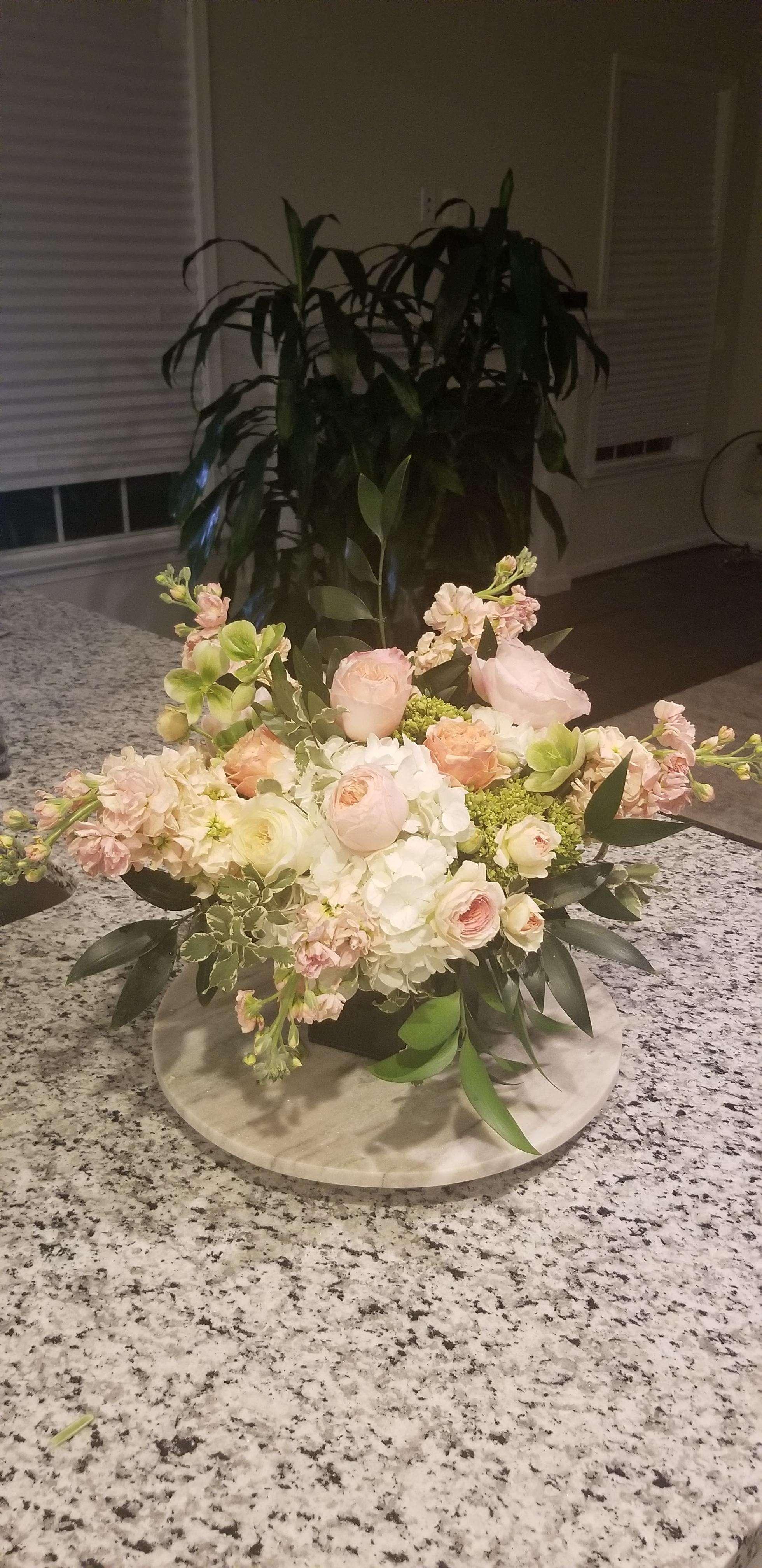 Jenna Visco's flower arrangement