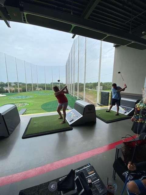 Jennifer Ruggeri at Top Golf
