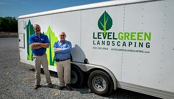 Level Green Landscaping truck