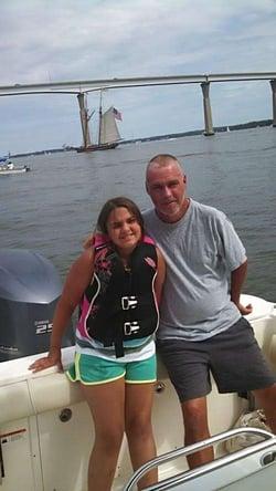 Don and daughter Linda