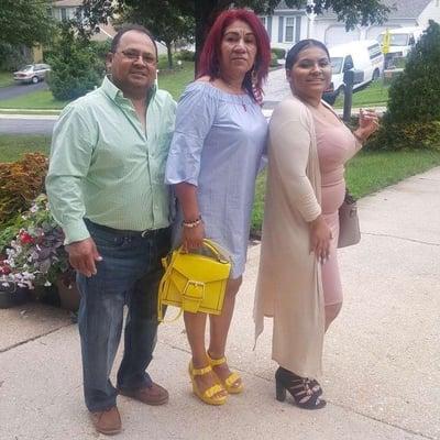 Juan Olivar Family