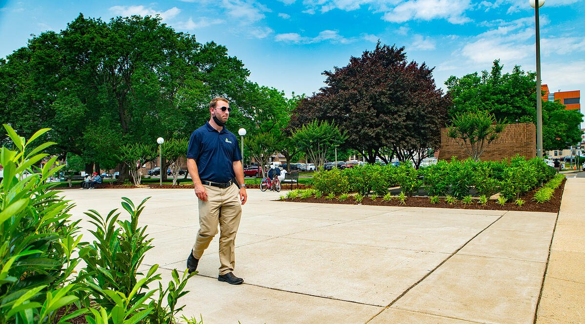Employee at Level Green Landscaping