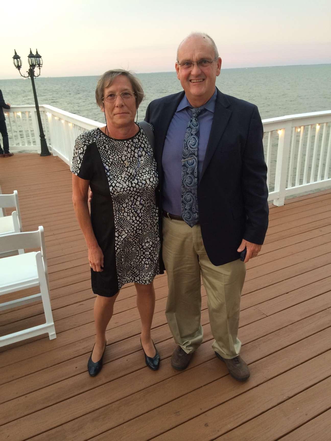 Lynn Garris and her husband