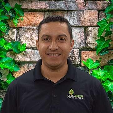 Rosvin Lara at Level Green Landscaping