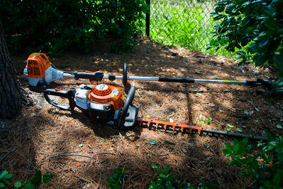 battery powered landscaping equipment