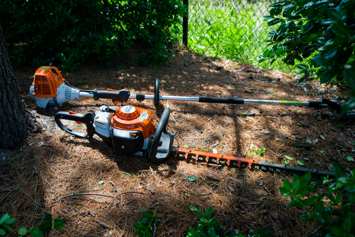 STIHL landscaping power tools