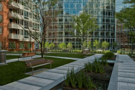 The Avenue landscape Washington DC