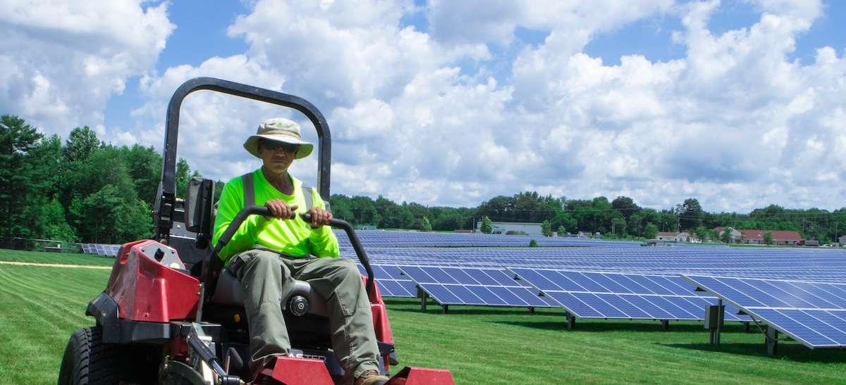 crew-mowing-solar-grass