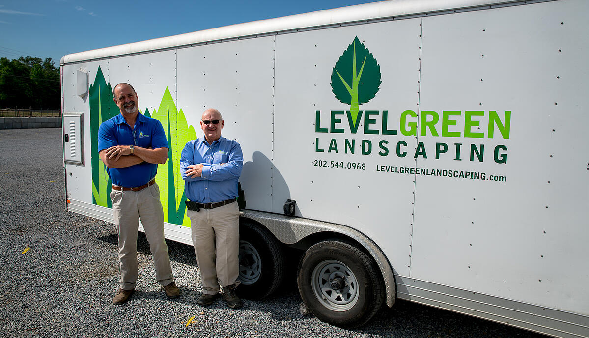 level green landscaping owners bill and doug