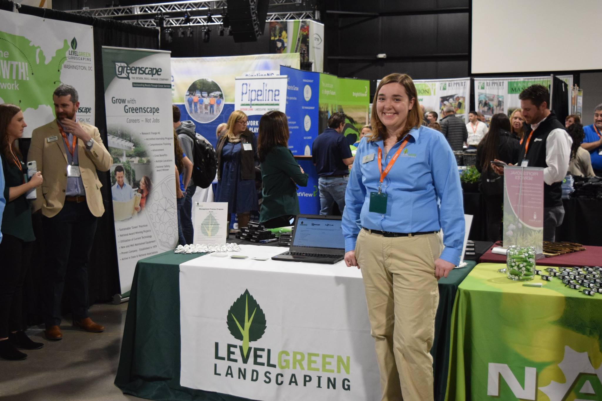 Level Green Landscaping at National Collegiate Landscape Competition