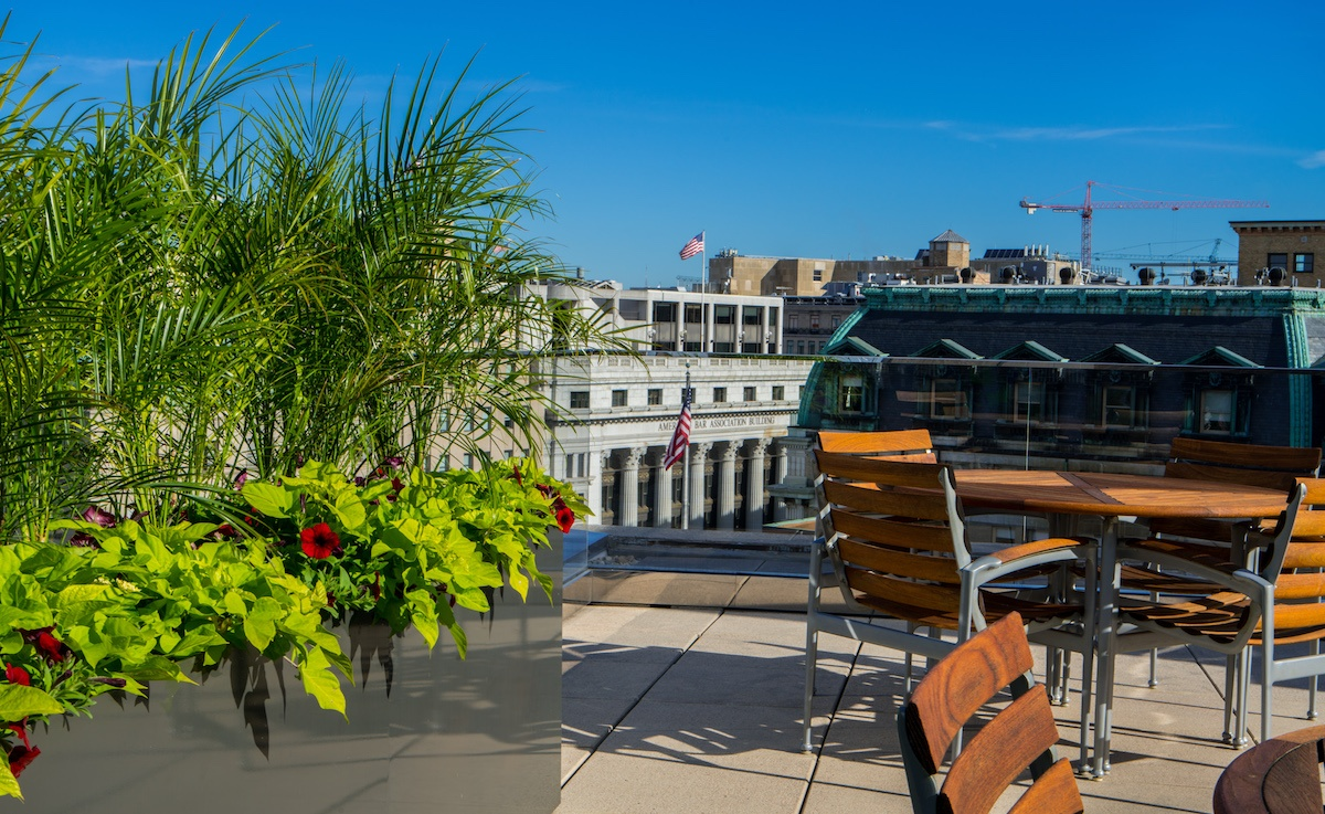 No Land? No Problem. Spruce Up Your Commercial Property With Rooftop Planters