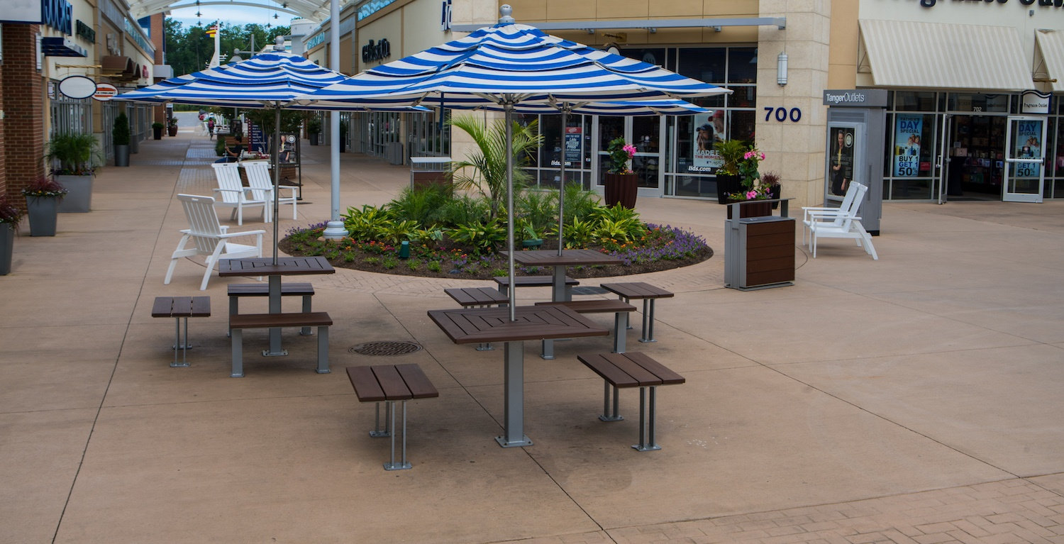 Shopping Mall Landscaping IdeasProven To Attract More Visitors