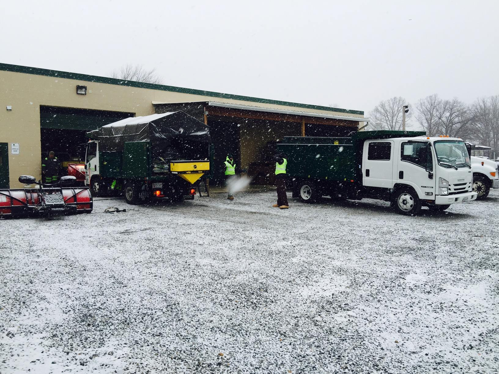 A Behind The Scenes Look at Year-round Snow & Ice Preparation