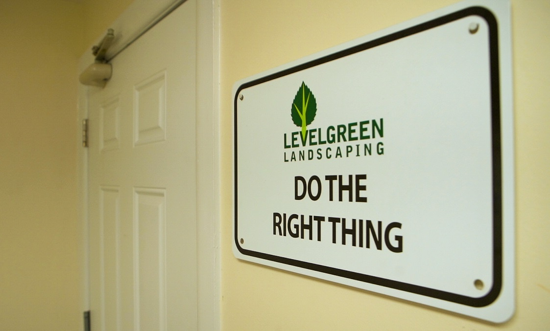 Do The Right Thing: What It Means To Us At Level Green